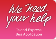 Island Express Bus - Inter-City Bus Application